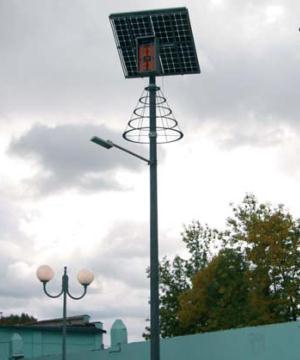 пример использования осветительного комплекса SOL-40